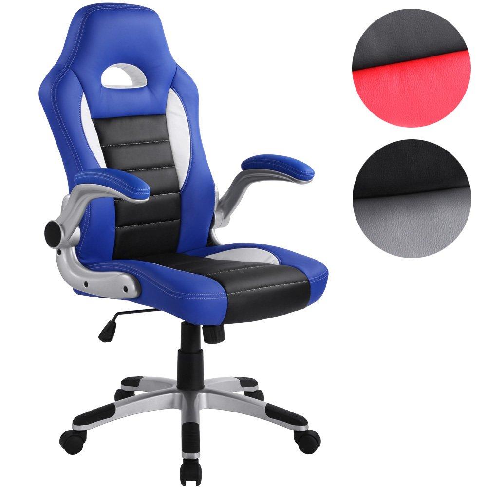 MIADOMODO Sportsitz Chefsessel Bürostuhl Racer (Farbwahl)