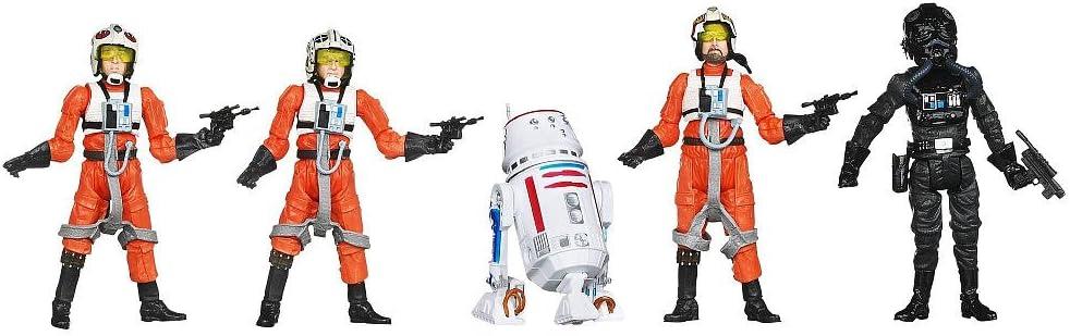 Hasbro Star Wars Exclusivo Yavin Pilot Pack – Neumático, Jek ...