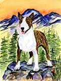 Caroline's Treasures SS8167CHF Bull Terrier Flag Canvas, Large, Multicolor For Sale