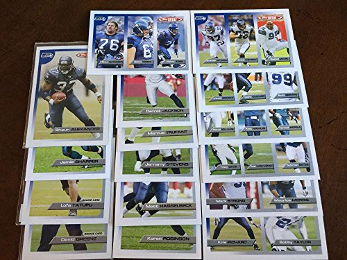 (2005 Topps Total Seattle Seahawks Team Set Mint)