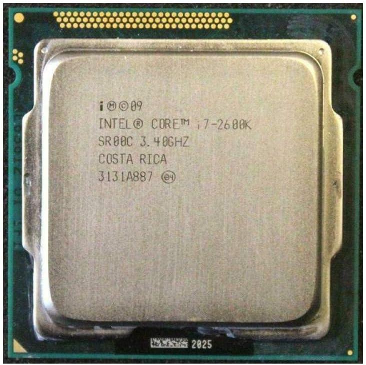 Intel Core I7-2600K 3.4GHz SR00C Quad-Core LGA 1155 CPU I7 2600K Processor