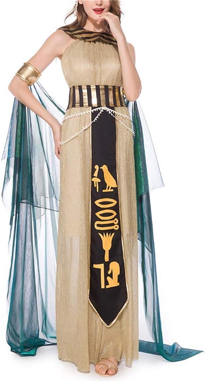 ZHAOXUAN Mujeres Diosa Griega Dama Romana Disfraz Egipcio Cosplay ...
