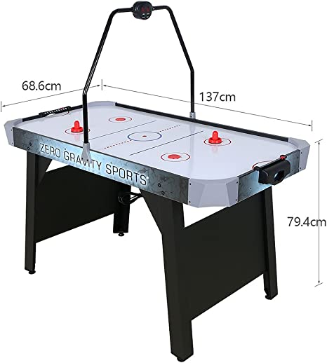 homelikesport Mesa de Juego Air Hockey de 54 / 4.5 FT para Sala ...