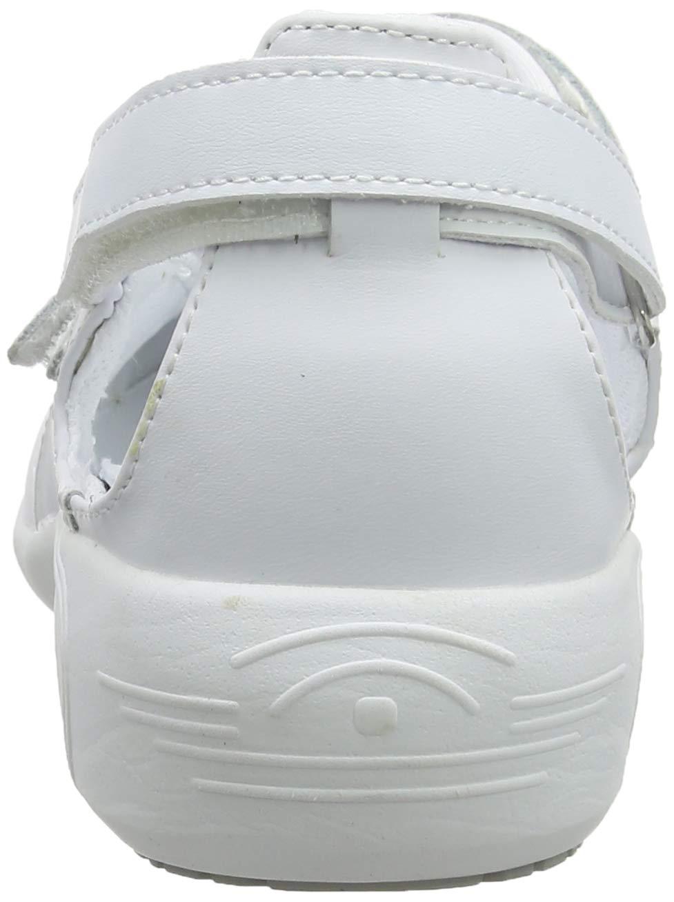 White//Fuchsia Fuchsia Oxypas Move Up Salma Slip-resistant 4 UK 37 EU Antistatic Nursing Shoes
