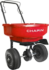 70 lb Red CHAPIN R E 8001A 70LB Residential Turf Spreader