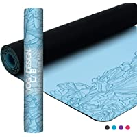 YOGA DESIGN LAB | The Infinity Mat | Luxurious Unique Non-Slip Design Provides Unparalleled Grip to Support and Align You Beautifully | Eco-Friendly | 4 Colors | Includes Carrying Strap!