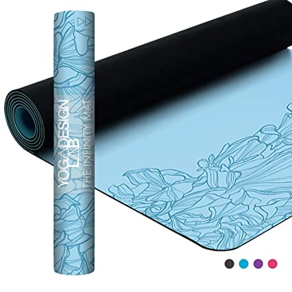 4a2a87a36fe9f5 YOGA DESIGN LAB | The Infinity Mat | Luxurious Unique Non-Slip Design  Provides Unparalleled Grip to Support and Align You Beautifully |  Eco-Friendly | 4 ...