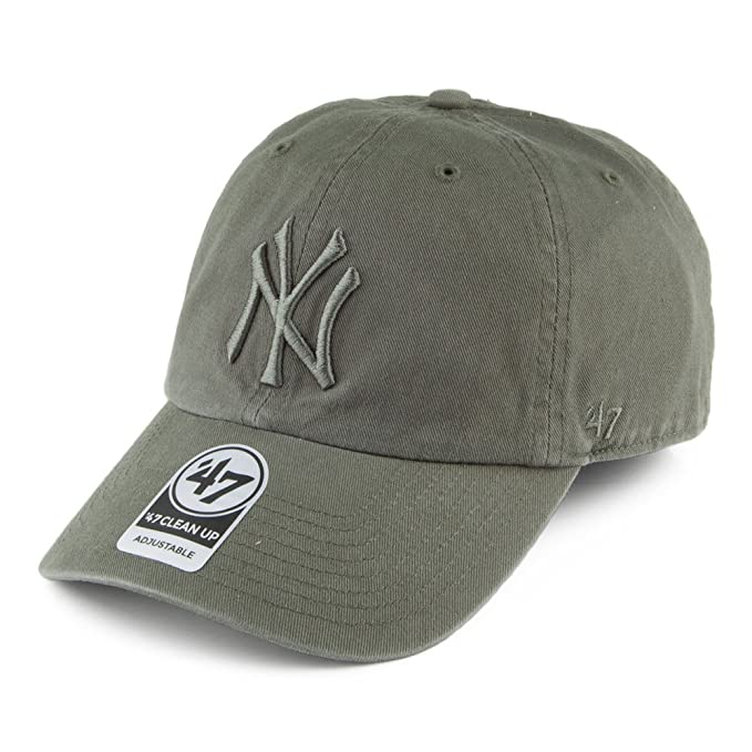 Gorra de béisbol Clean Up New York Yankees de 47 Brand - Verde ...