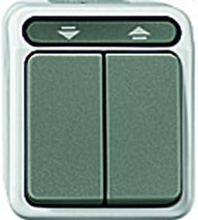 Gira Jalousieschalter 015430 1polig AP WG grau