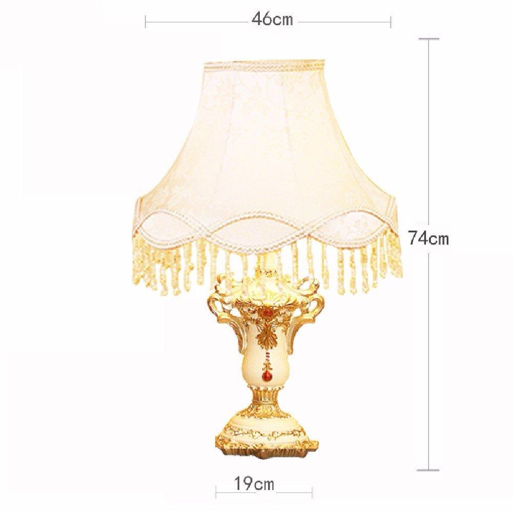 KHSKX Lampada di tabella di soggiorno camera da letto, lampada decorazione regalo di nozze,D,Interruttore dimmer