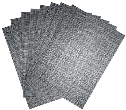Benson Mills Tweed Placemats Nickel product image