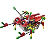 [ Motorial Alien Robot ] Robotic Building Set Block Toy ,Battery Motor Operated,3D Puzzle Design Alien Primate Robot Figure for kids and adults , Sturdy Enough , 122 parts (Burst Cicada)