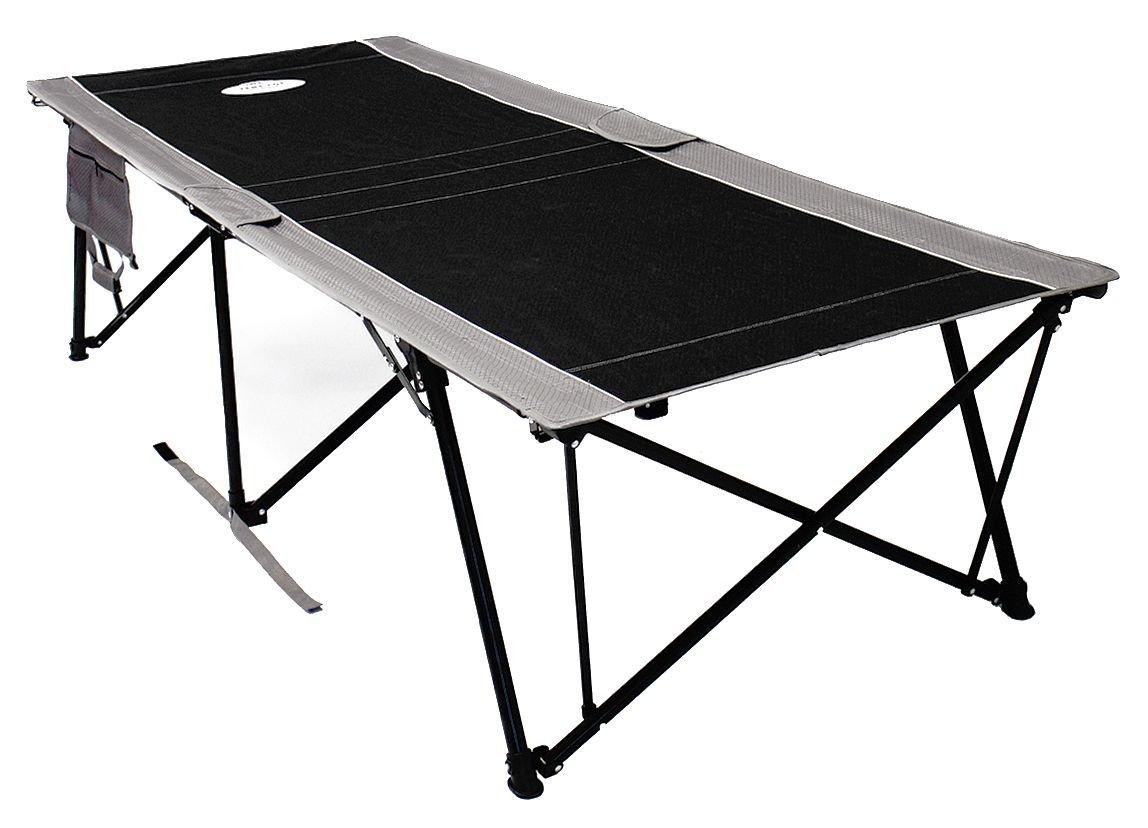 Kamp-Rite Tent Cot Inc Kwik Cot, Black Gray, 400 lb Capacity