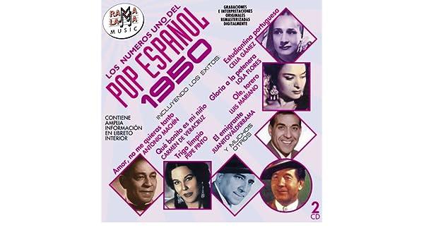 Los Numero 1 Del Pop Espanol 1950 - Los Numeros 1 Del Pop Espanol 1950 / Various - Amazon.com Music