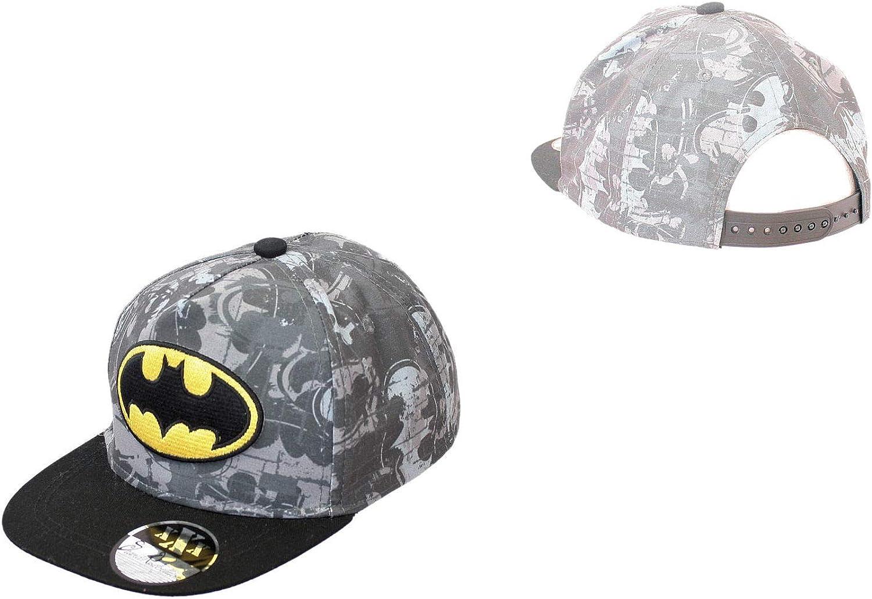 Gorra Plana para niño Batman: Amazon.es: Ropa y accesorios