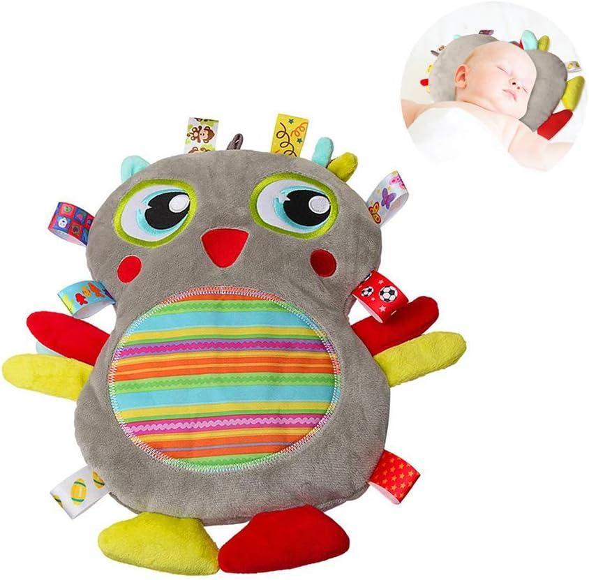 Mallalah - Alfombra de despertar gigante para bebé, cojín de pájaro, diseño de calma y seguridad