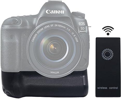 Empuñadura de batería para Canon EOS 5d mark IV 5div 5D4 DSLR SLR ...