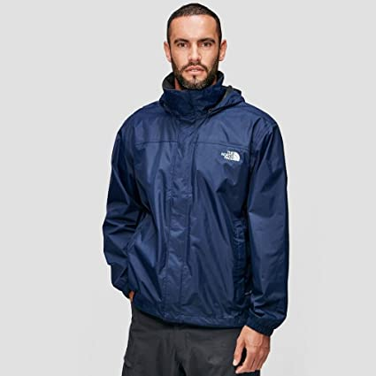 f7b4253f0 Amazon.com: The North Face Men's Resolve Jacket Cosmic Blue LG ...