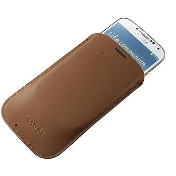 fc6fd43e56d77 Samsung Original EF-LI950BAEGWW Tasche (kompatibel mit Galaxy S4) in camel  braun