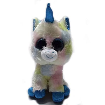 JEWH Ty Beanie Boos - Plush Animal Doll / Toy Owl, Unicorn, Cat,