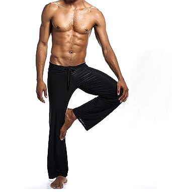 xhorizon Hombre Flirty Lounge Pantalones de Yoga Deportivos ...