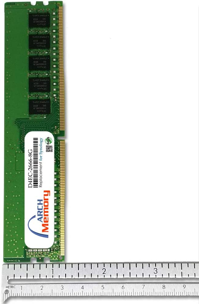 Arch Memory Replacement for Synology D4EC-2666-8G 8 GB DDR4-2666 PC4-23400 288-Pin ECC UDIMM RAM for RS4017xs+