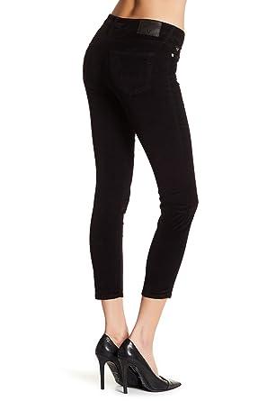 b9b5743f4f7c Amazon.com  True Religion Women s Halle Super Skinny Crop Capri Corduroy  Pant  Clothing