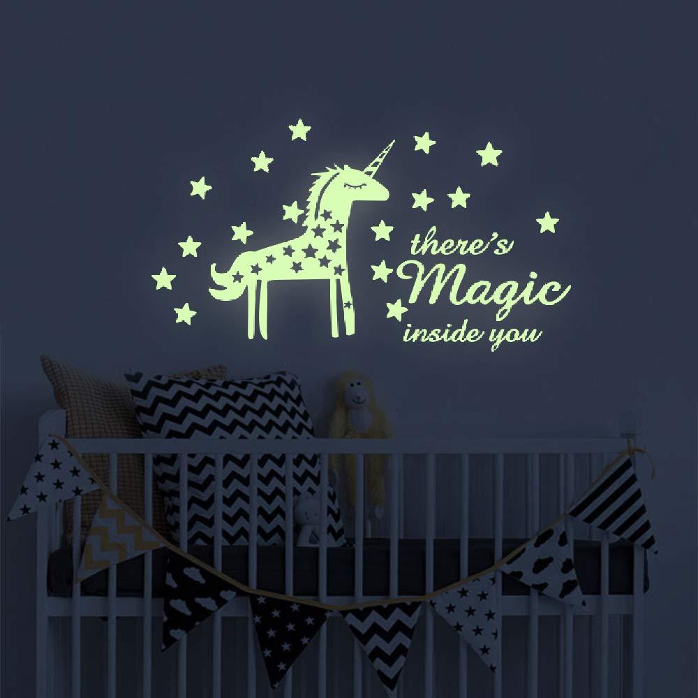Vinilo Decorativo Pared [7LB62NWN] unicornio