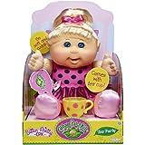 Cabbage Patch Kids Sittin Pretty - TEA PARTY Doll - Blonde Hair, Blue Eyes