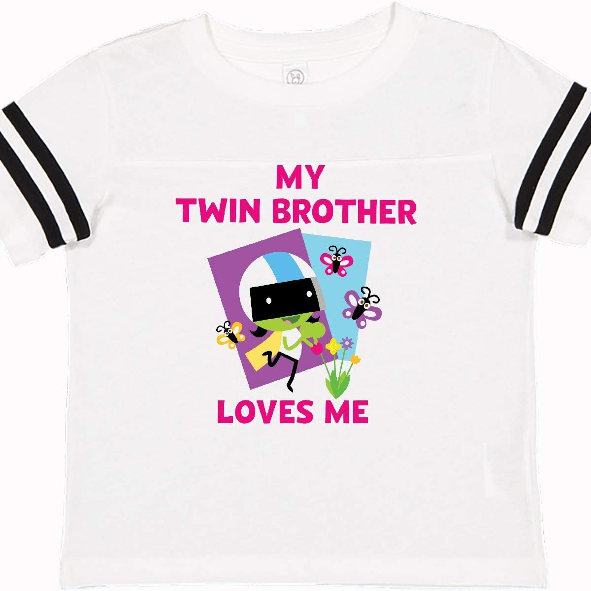 PBS Kids inktastic My Twin Brother Loves Me with Dee Toddler T-Shirt