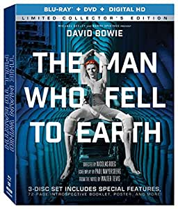 The Man Who Fell To Earth (Limited Collector's Edition) [Blu-ray + DVD + Digital HD]