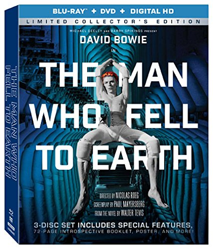 The Man Who Fell To Earth (Limited Collector's Edition) [Blu-ray + DVD + Digital HD] (Candy Clark)