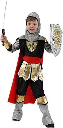Boy/'s Ancient Roman Warrior Dress Up Kids Costume Cosplay Halloween Party Outfit