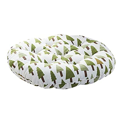 Chair Round Cotton Cushion Comfortable Cushion Outdoor Hanging Chair Cushion Home Decoration Sofa Bed Pillow: Clothing
