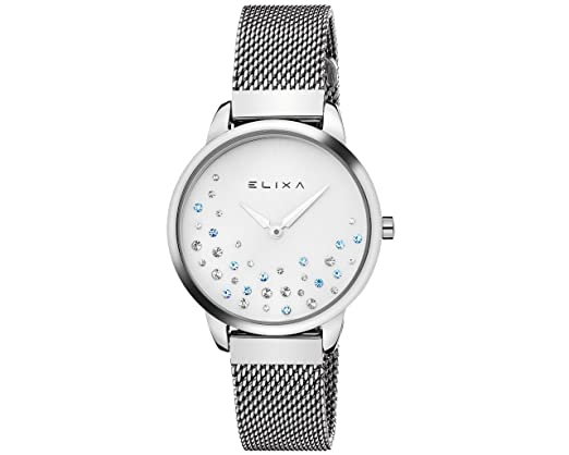 ELIXA BEAUTY STEEL E121-L491: Amazon.es: Relojes
