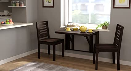 Urban Ladder Blaine Two Seater Dining Table (Mahogany)