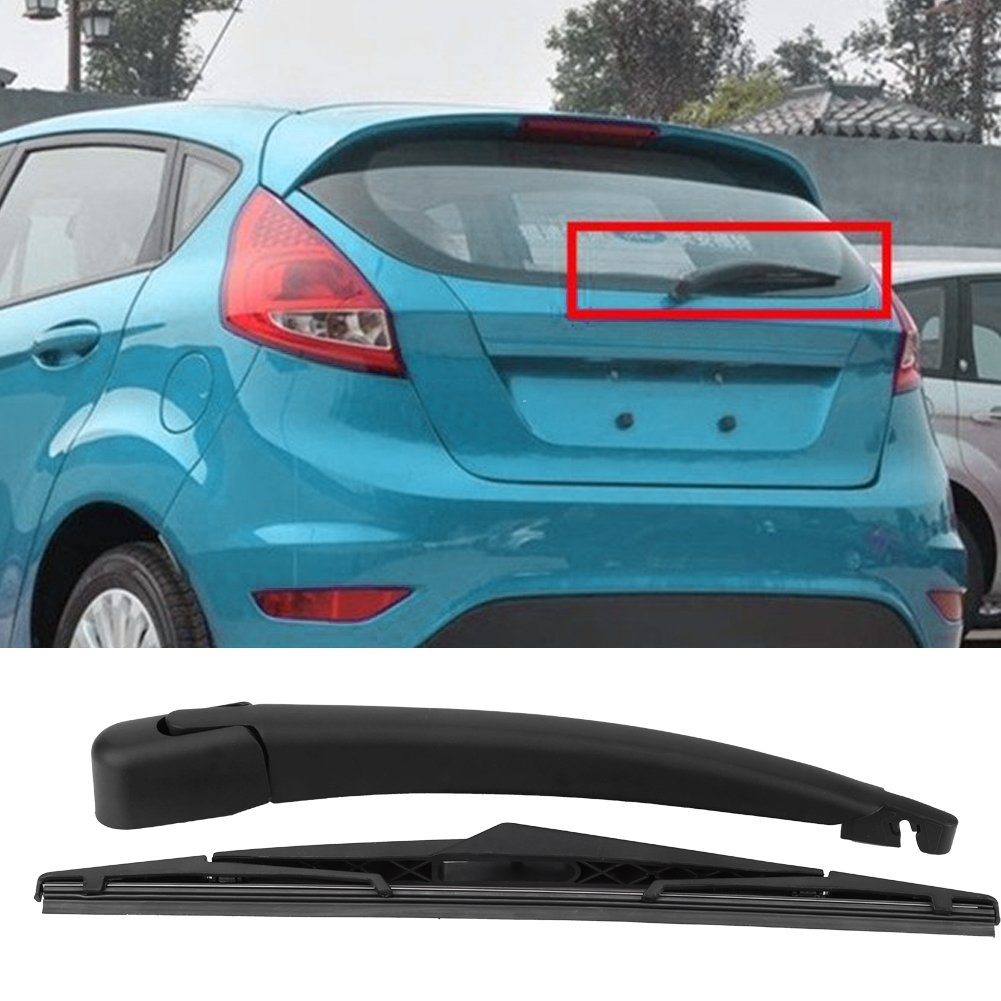 Amazon.com: Qiilu Car Rear Windshield Windscreen Wiper Arm & Blade Set for Ford Fiesta MK6 MK7 ST150 02-08: Electronics