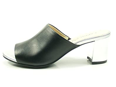 Pantoletten CAPRICE - 9-27211-30 Black Nappa 022 lSuRqE