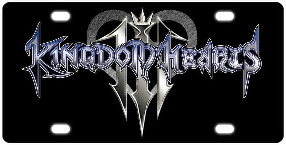 Blue sky Custom Kingdom Hearts Metal License Plate