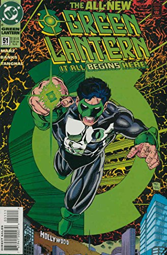 [Green Lantern (3rd Series) #51 FN ; DC comic book] (Kyle Rayner Costumes)