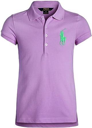 Polo Ralph Lauren - Camiseta de manga corta - para niña ...