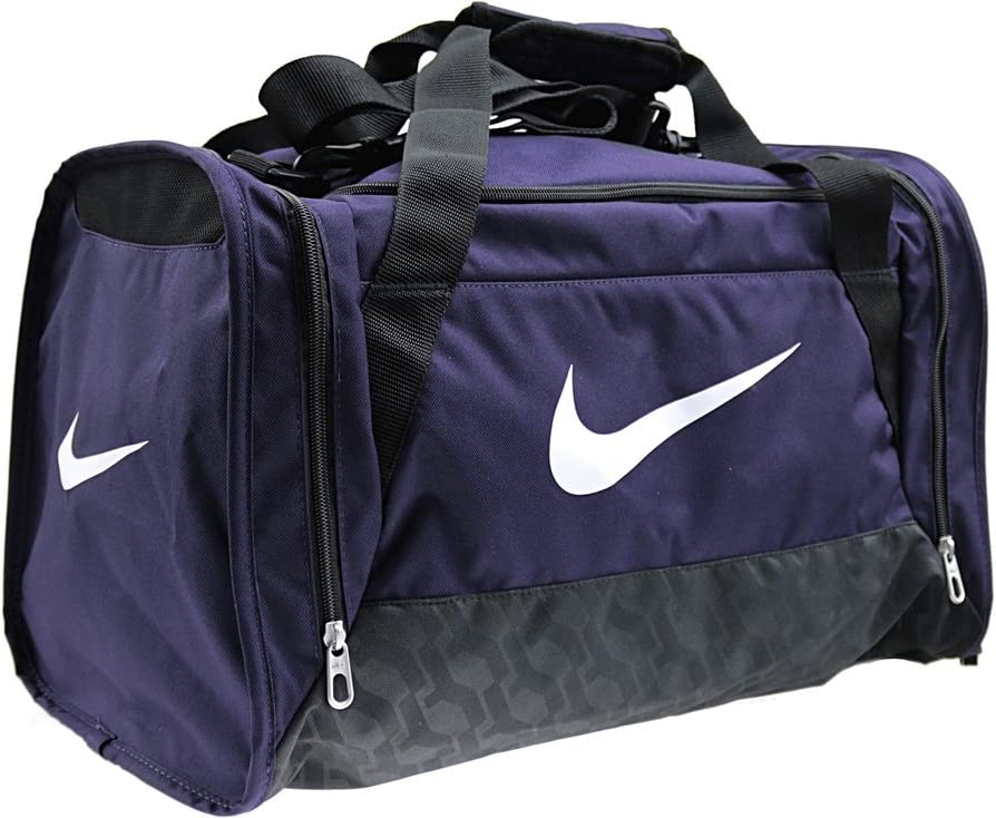 Nike Brasilia 6 Medium Duffel Sport Bag Green