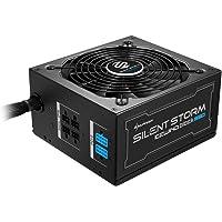 Sharkoon silentstorm Ice Wind Black alimentatore per PC ATX (80+ Bronze, DC a DC della tecnologia, gestione dei cavi, Cavo a nastro) nero nero 550 Watt