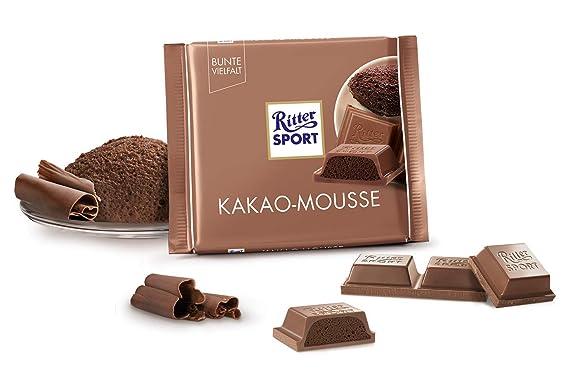 Ritter Sport 100 g Cacao Pizarra Mousse de chocolate, 11er Pack (11 x 100 g): Amazon.es: Alimentación y bebidas