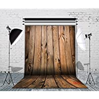 LB 5X7ft Wooden Wall & Floor Poly Fabric Photo Backdrops Customized Studio Background Studio Props QD06