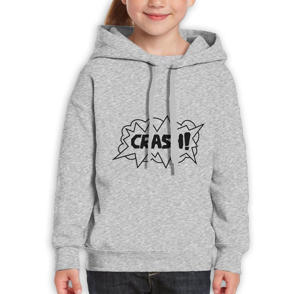 CoolABC Cotton Crash Boy/&Girls Hooded Hoody Clothing