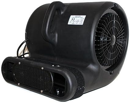 Tool King Super Eagle II Commercial 1 Hp 3 Speed 2 Position Carpet Dryer Blower Fan