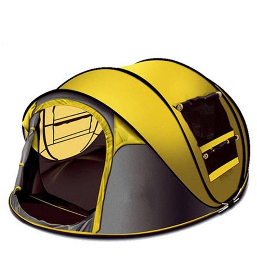 Zelte, eine vollautomatische outdoor camping Zelt, 5-6 Camp, Hand geworfen, Geschwindigkeit Weg Zelte, Hand hinter dem Zelt, camping winddicht, wasserdicht, Anti-Moskito Zelt
