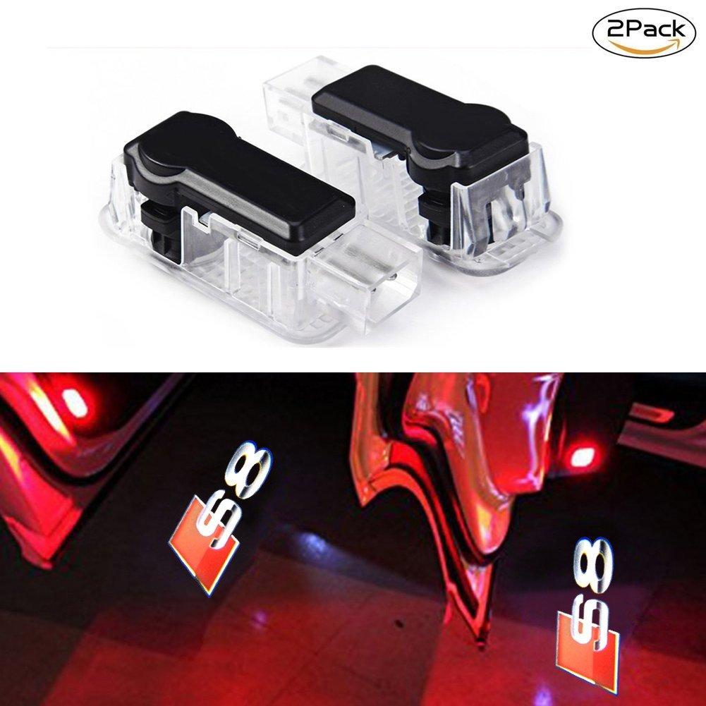 Lyauta 2/x Porte de voiture lumi/ère Ghost Shadow lampe LED 3d Logo Vid/éoprojecteur