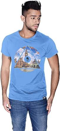 Creo London Telephone T-Shirt For Men - Xl